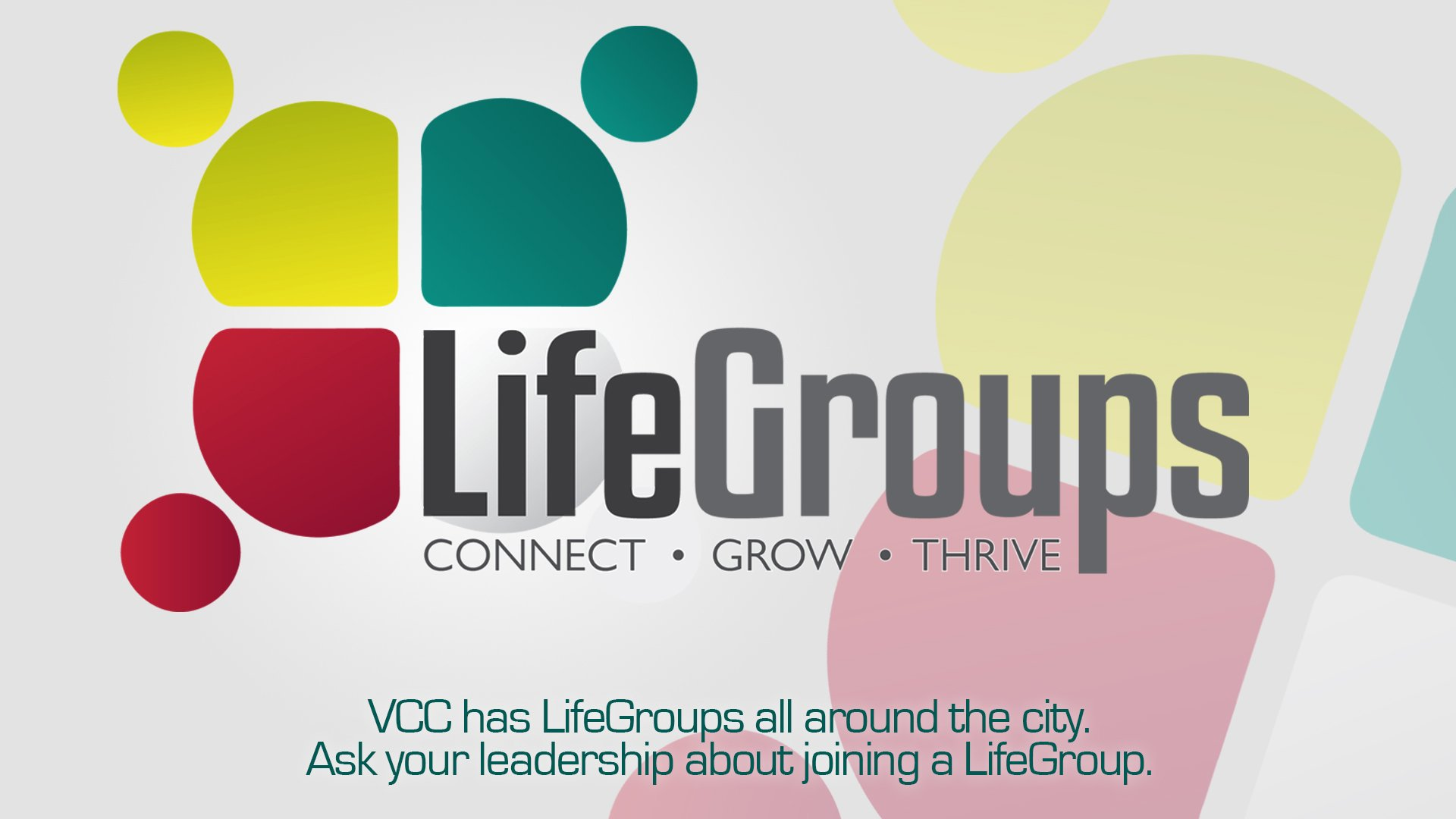 LifeGroups Celebration