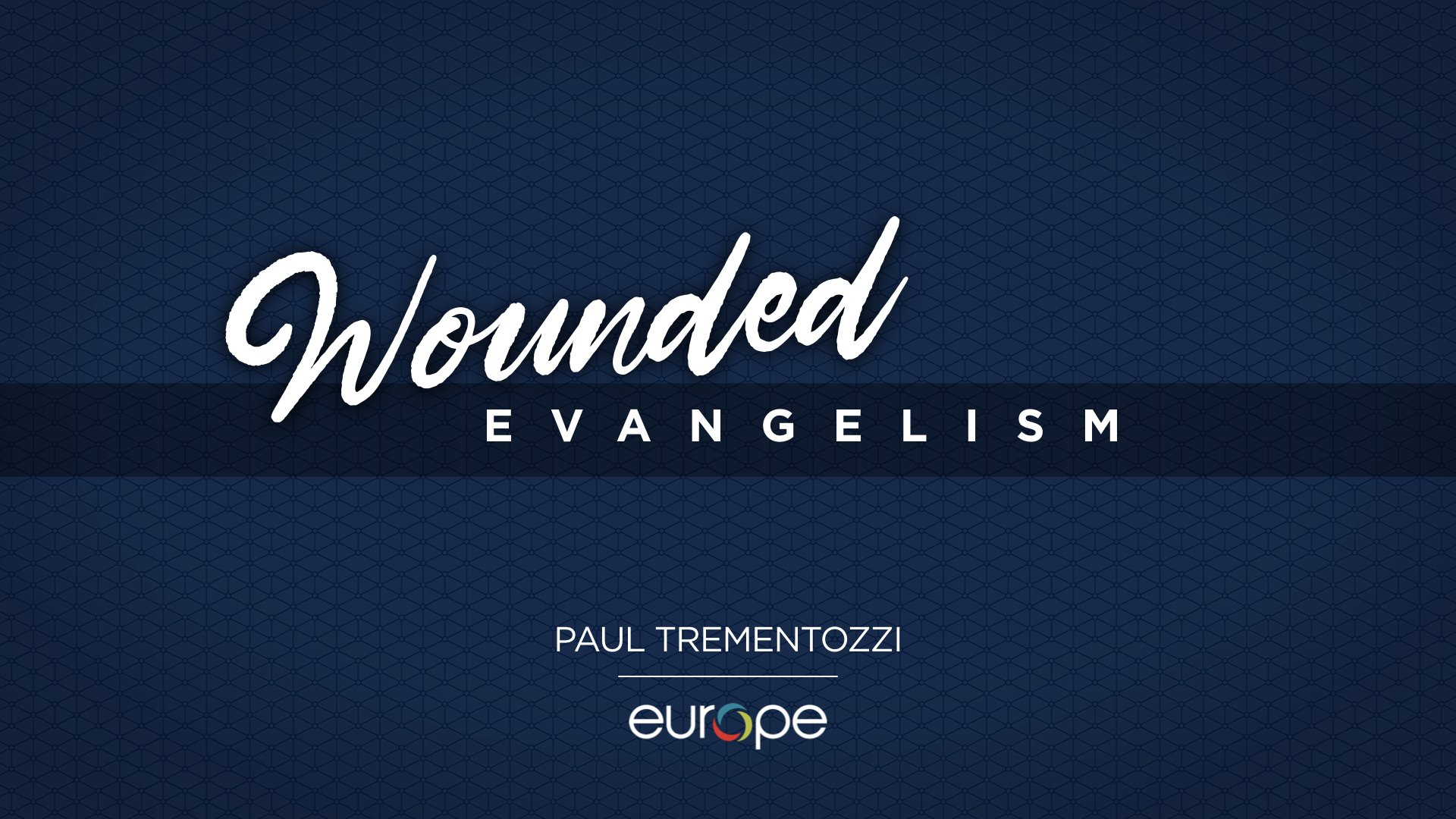 Wounded Evangelism